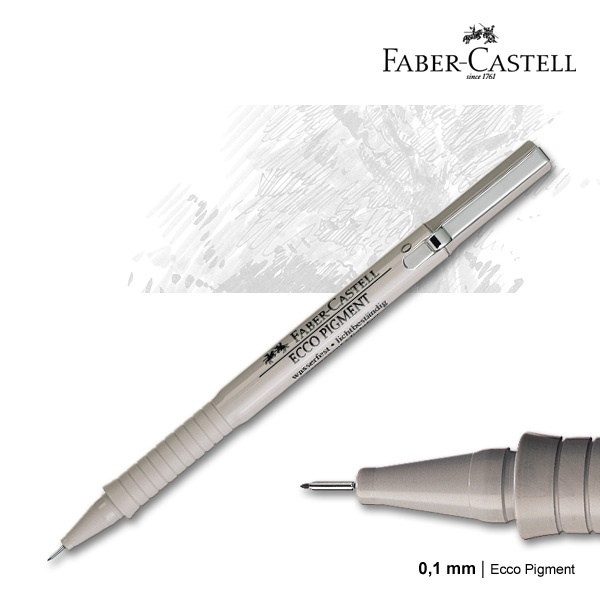 faber castell ecco pigment review