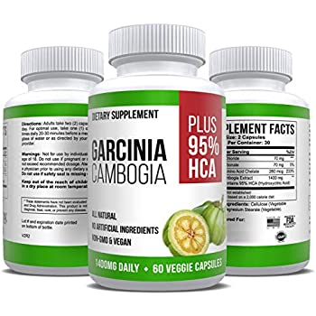 100 pure garcinia cambogia extract with hca extra strength reviews
