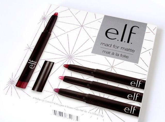 elf mad for matte lip set review
