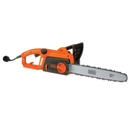 black and decker electric chainsaw review