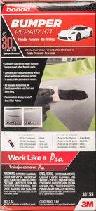 bondo bumper repair kit review