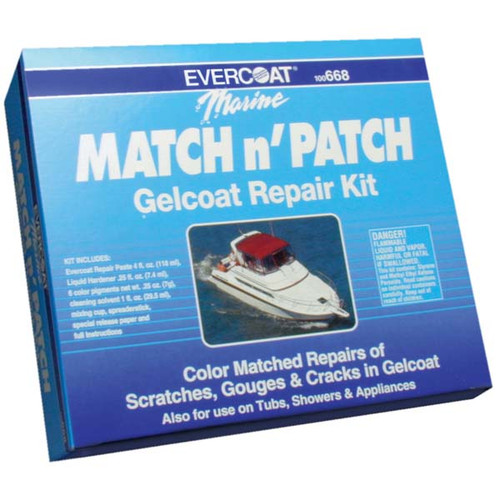 evercoat gelcoat repair kit review