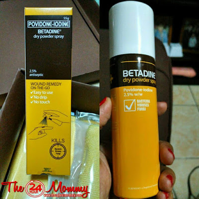 betadine dry powder spray review