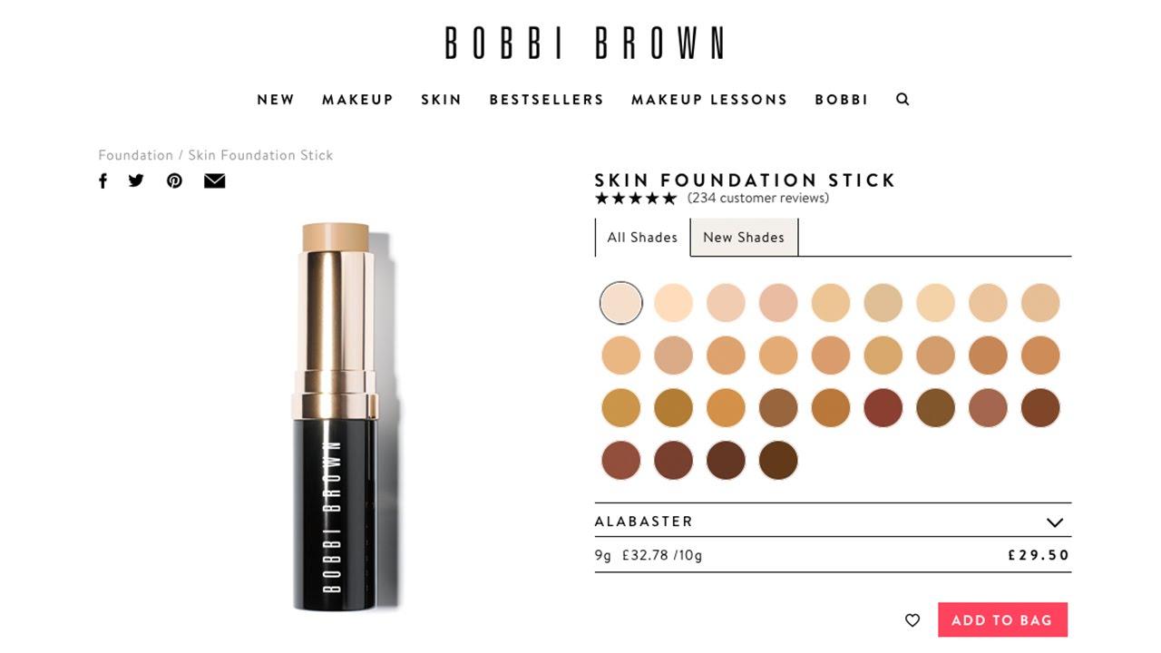 bobbi brown cream foundation review