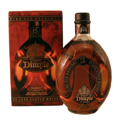dimple 15 year old scotch whisky review