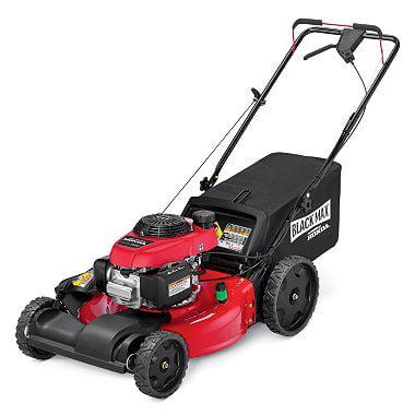 black max lawn mower reviews