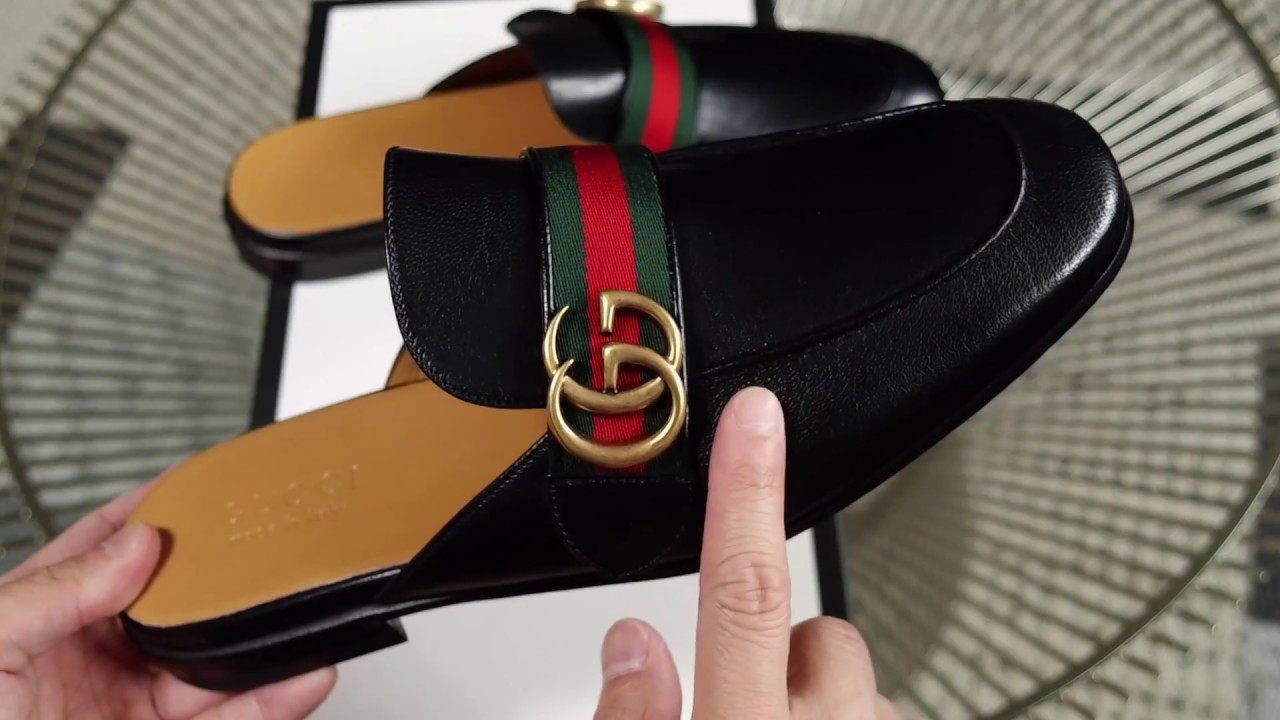 gucci princetown leather slipper review