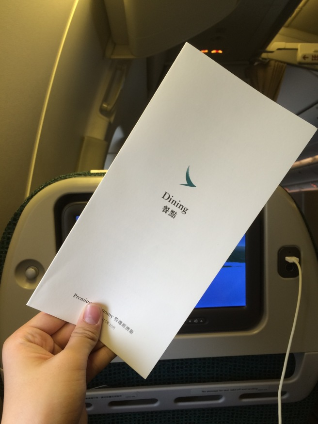 cathay pacific new york to hong kong economy review