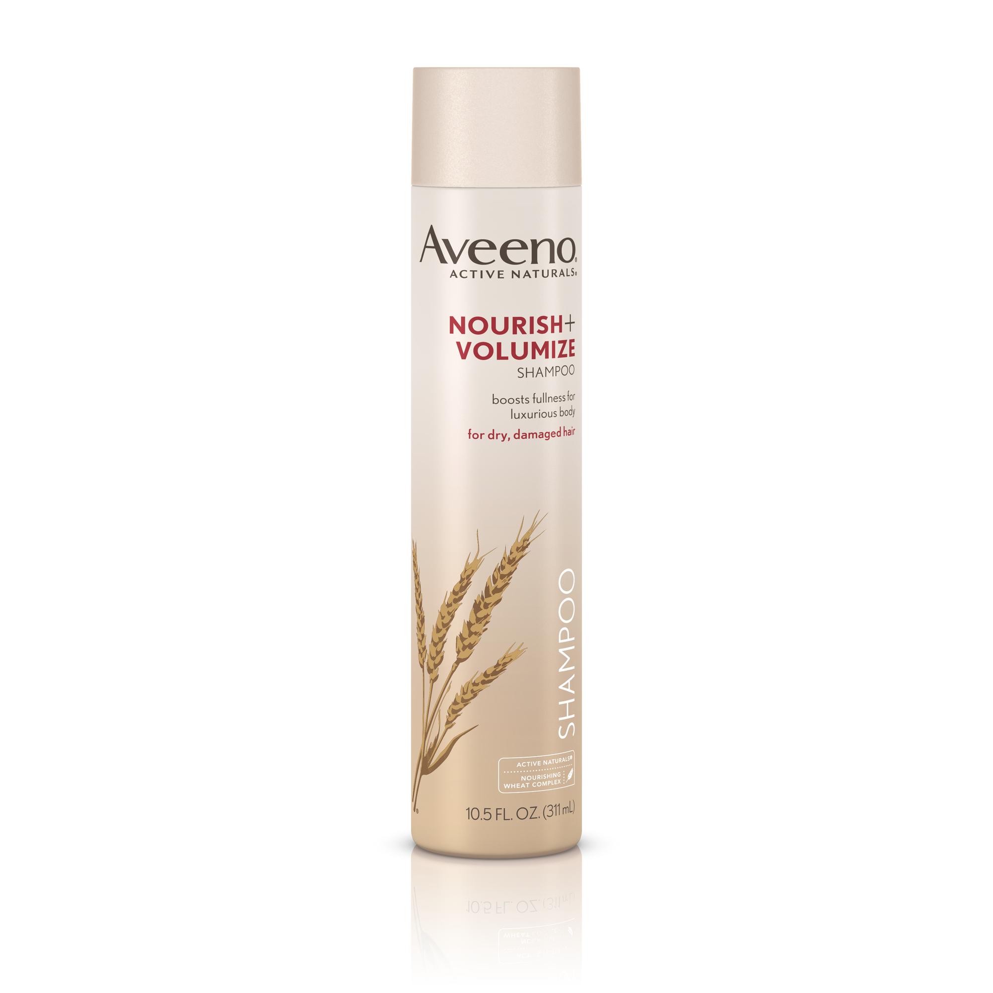 aveeno nourish volumize shampoo review