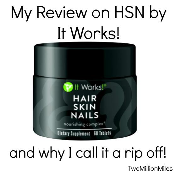 hair and nail pills reviews