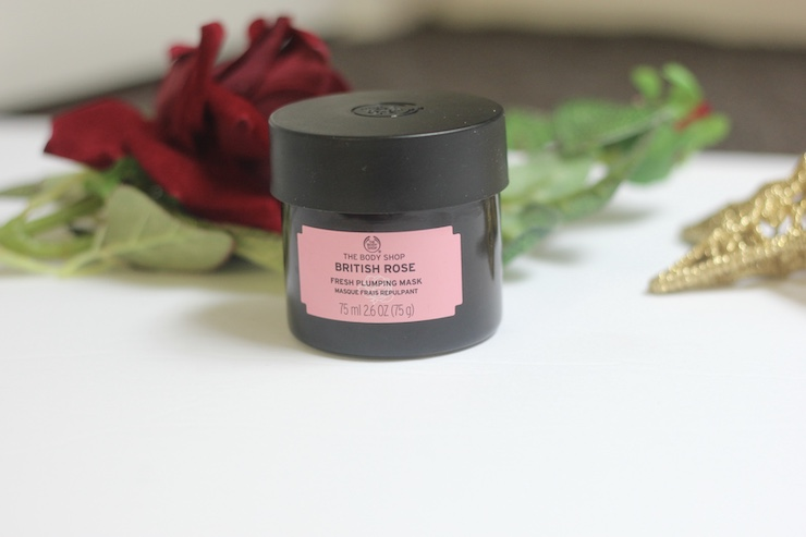 body shop british rose plumping mask review