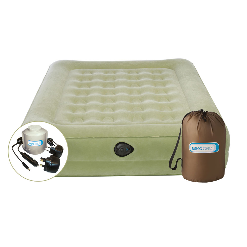 aerobed comfort raised king airbed review