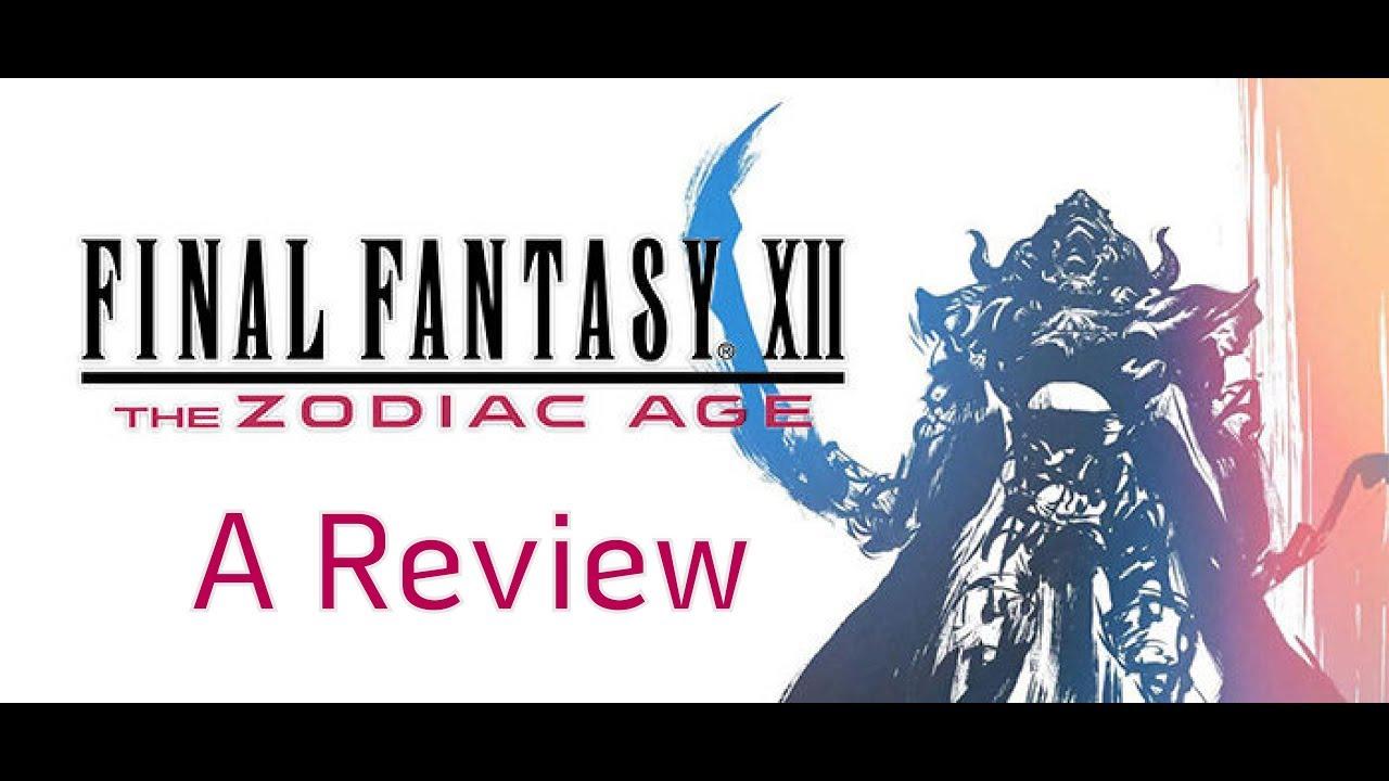 final fantasy 12 the zodiac age review