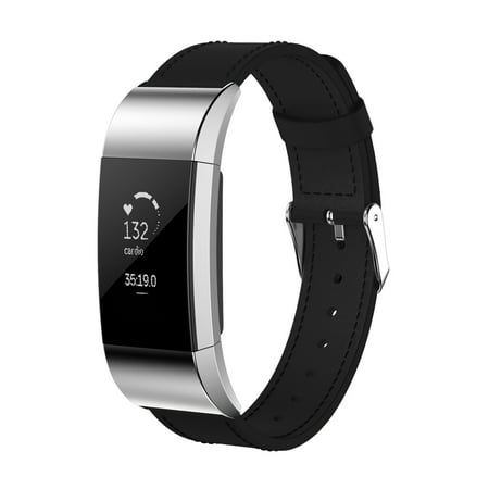 fitbit charge 2 leather band review