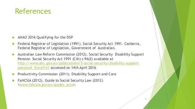 centrelink disability support pension review