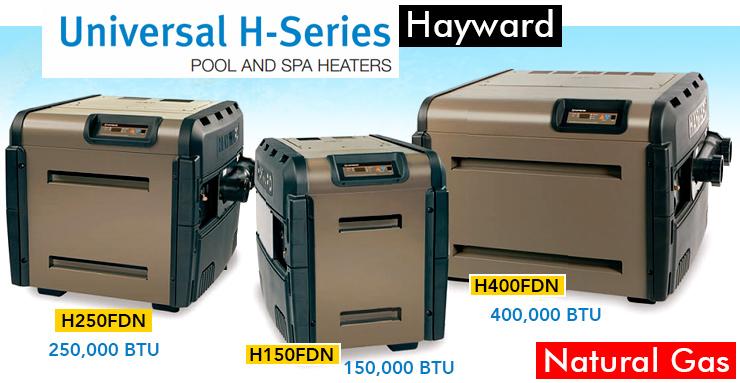 hayward gas pool heater reviews