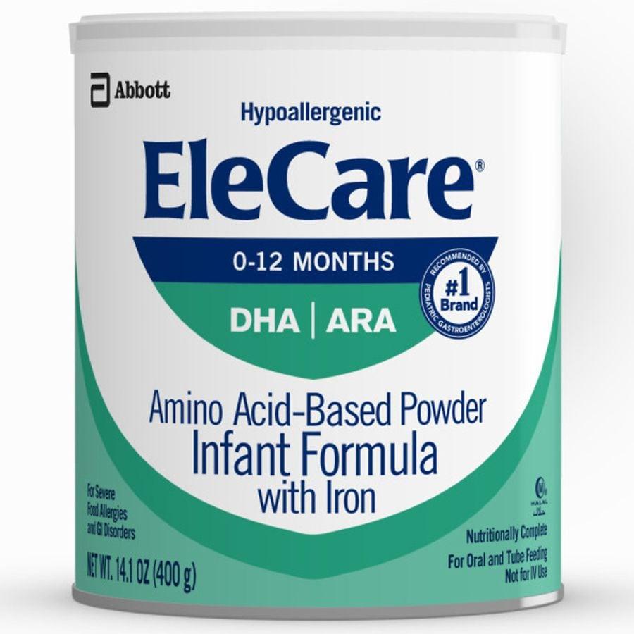 elecare hypoallergenic infant formula reviews