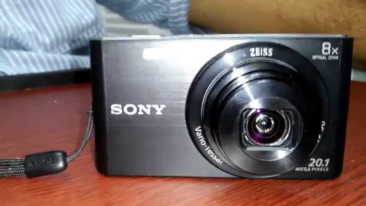 sony digital camera dsc w830 review