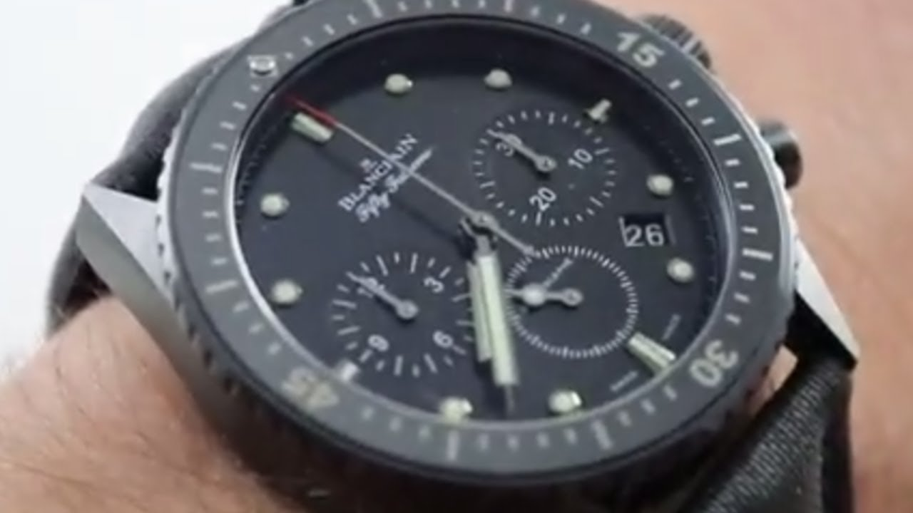 blancpain fifty fathoms flyback chronograph review