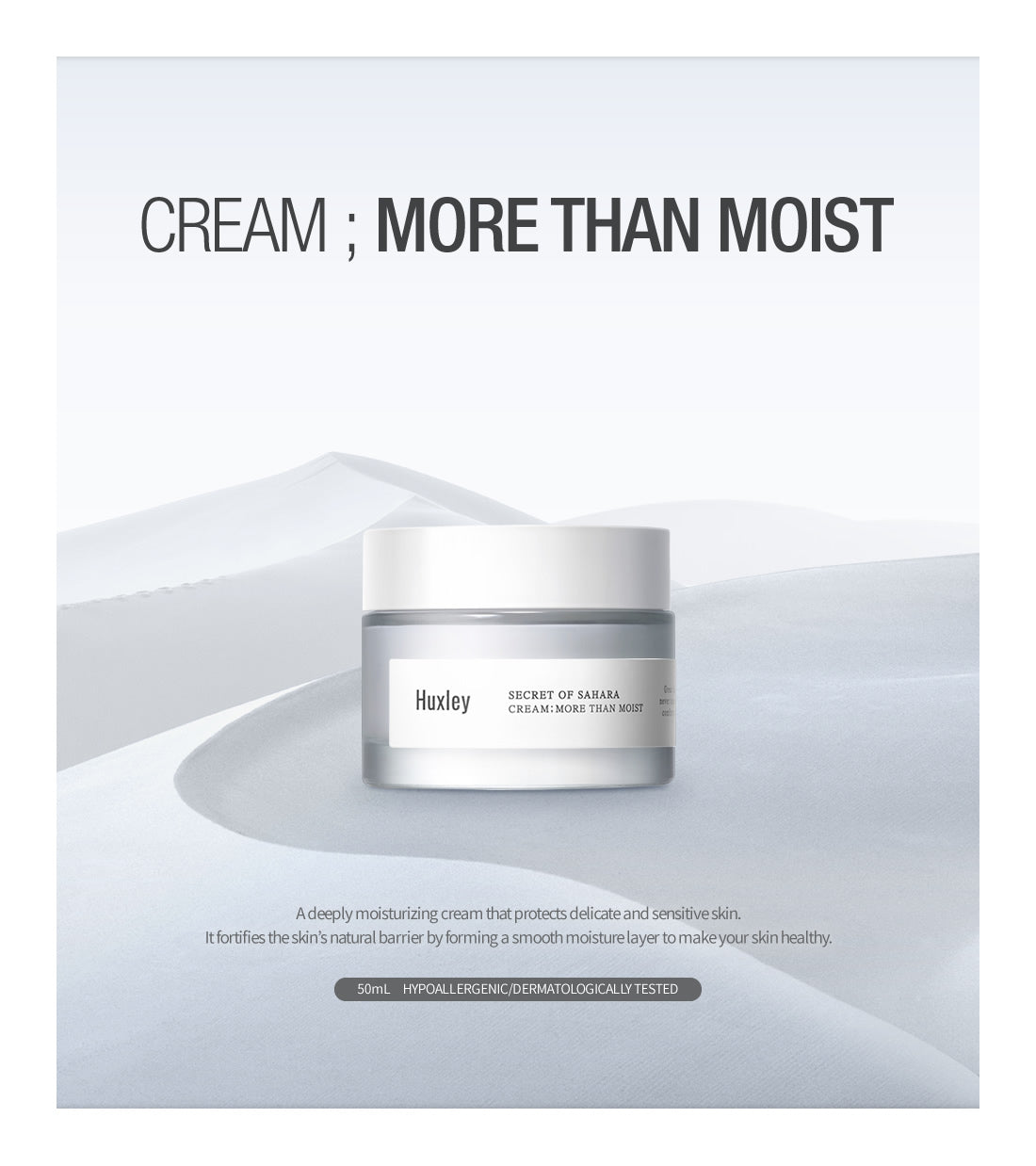 huxley more than moist cream review