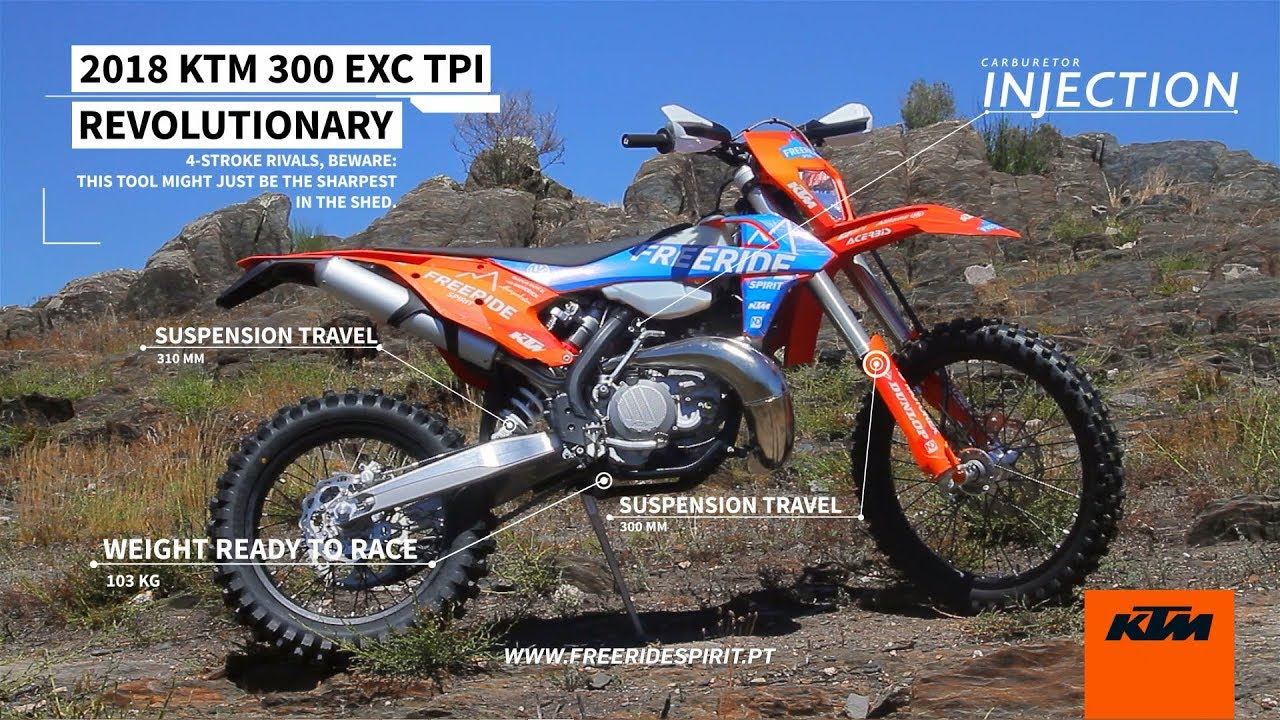 2018 ktm 300 exc tpi review