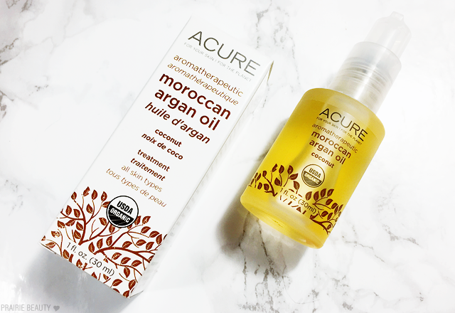 acure moroccan argan oil rose reviews