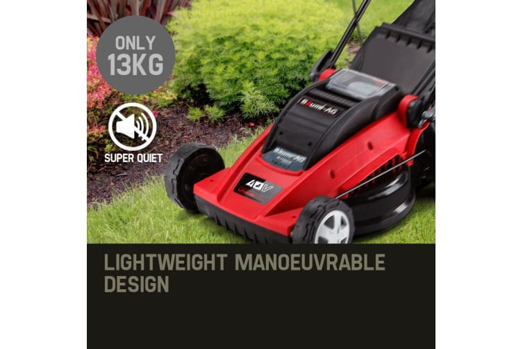 baumr ag e force 360ii lithium cordless lawn mower review