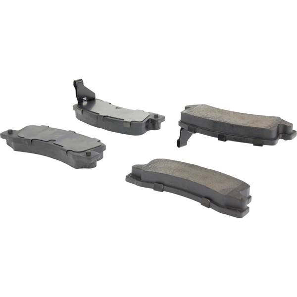 centric ceramic brake pads review
