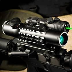 barska 1 4x28 ir hunting scope review