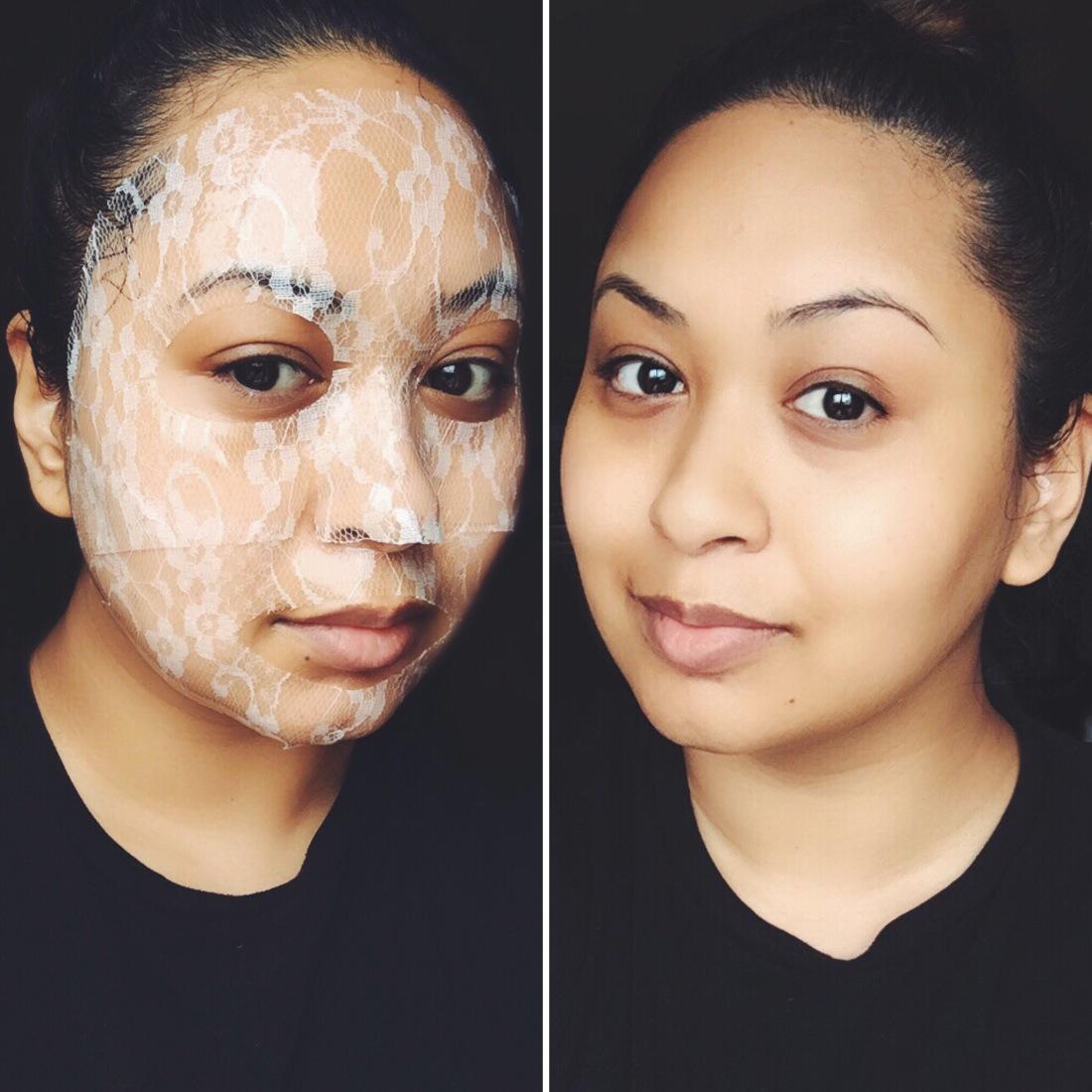 banila co lace hydrogel mask review