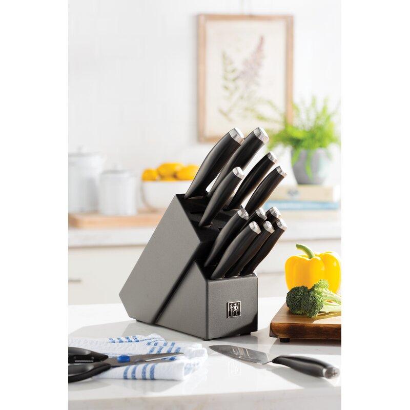 scanpan 14 piece knife block set review