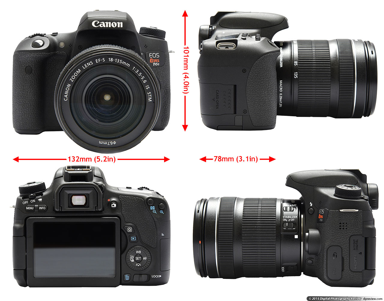 canon eos rebel t6i review