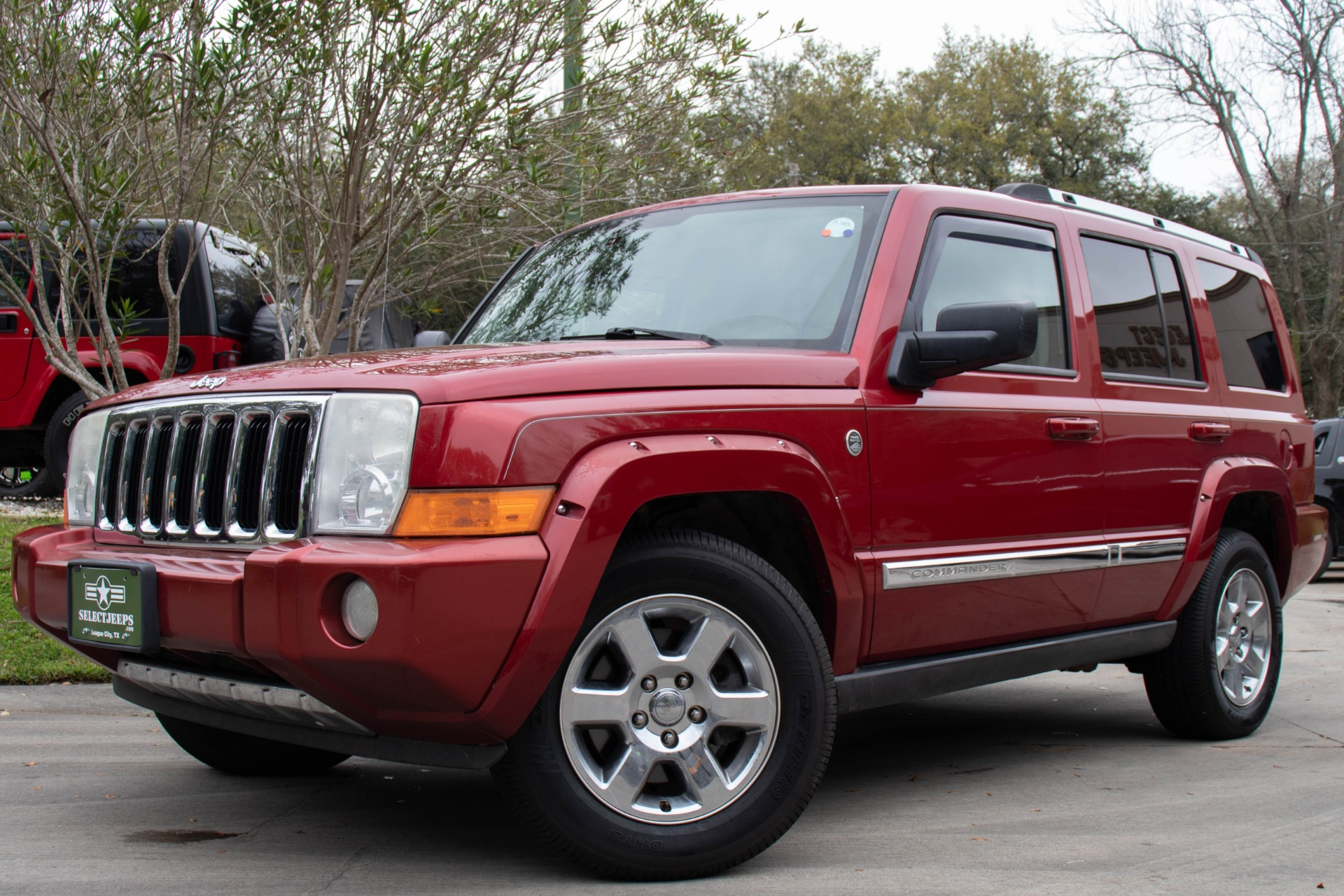 2006 jeep commander limited reviews