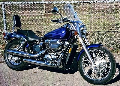 2003 honda shadow ace 750 review