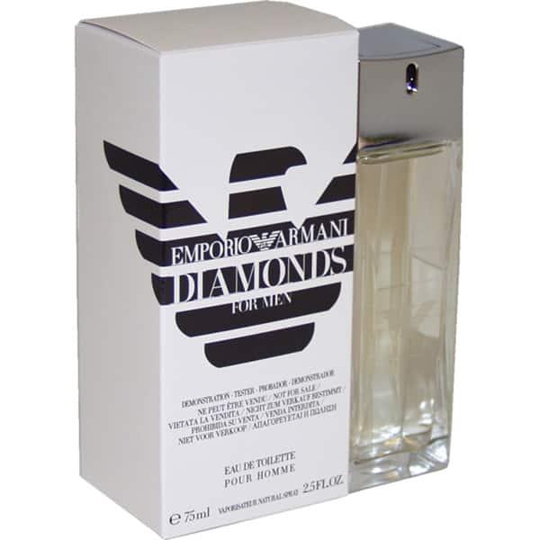 emporio armani diamonds for men review