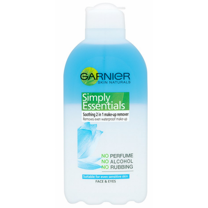garnier 2 in 1 makeup remover review