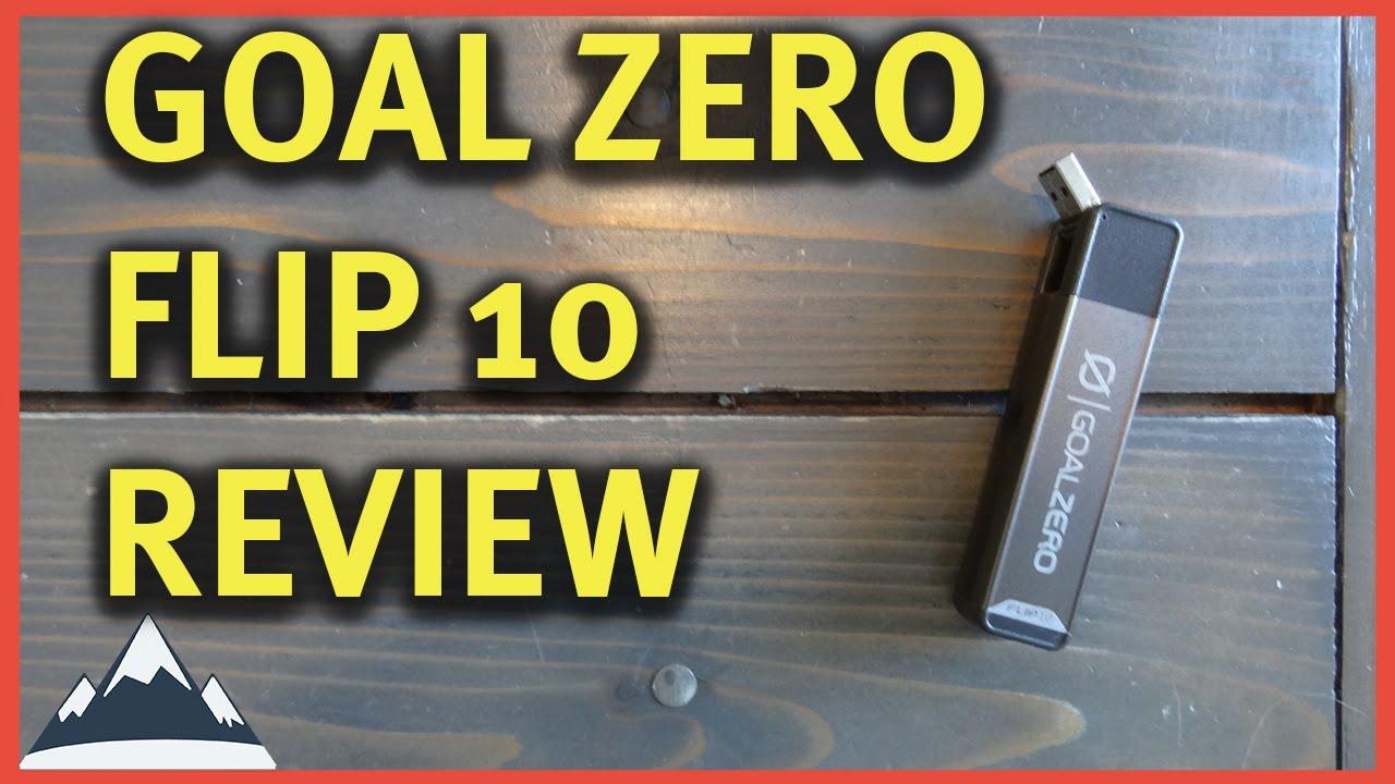 goal zero flip 20 review