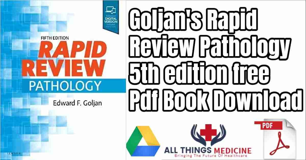 goljan rapid review pathology 3rd edition pdf download