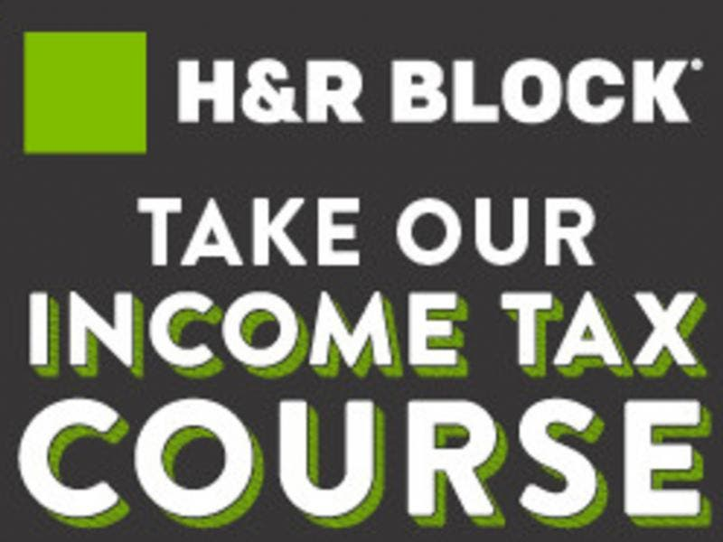 h and r block income tax course review