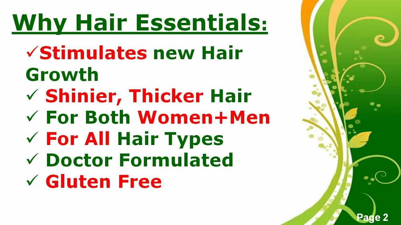 hair essential for hair growth reviews