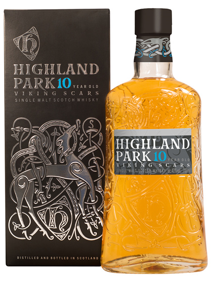 highland park 10 viking scars review