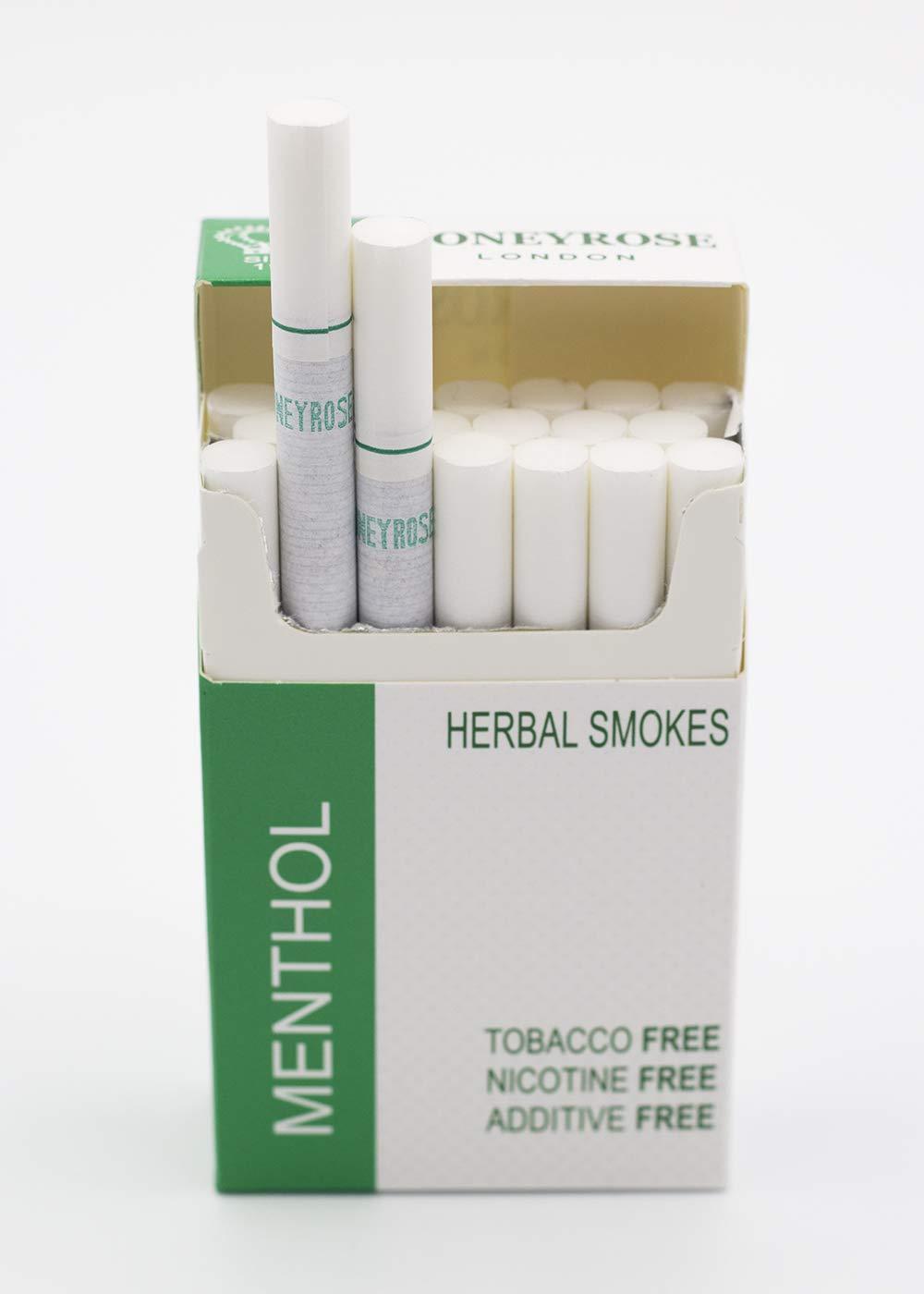honeyrose menthol herbal cigarettes review