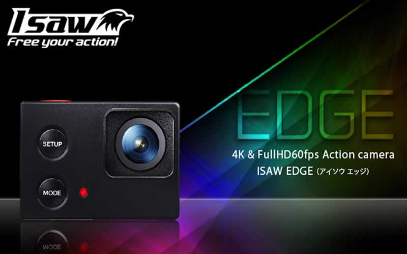 isaw edge action camera review