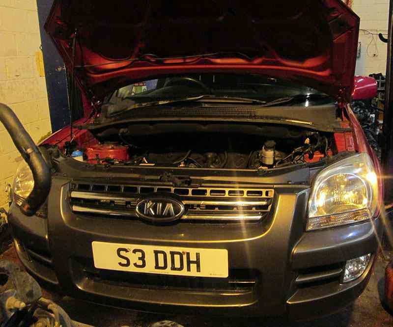kia sportage 2 litre petrol review