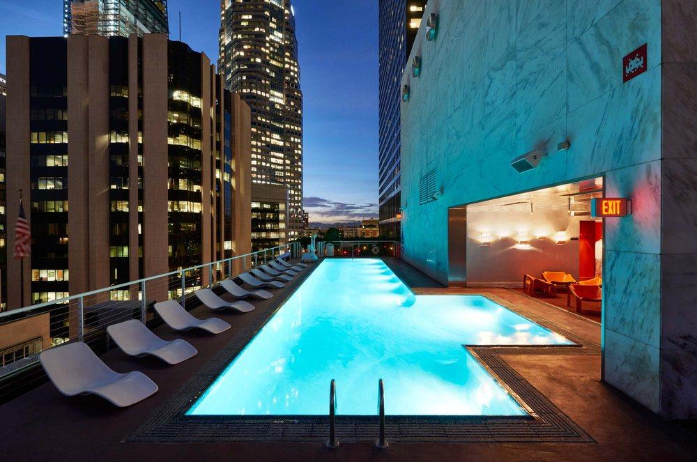 the la hotel downtown reviews
